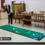 Khung lưới tập Golf di động